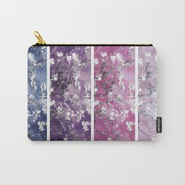 Van Gogh Almond Blossoms Blue Purple Orchid Carry-All Pouch