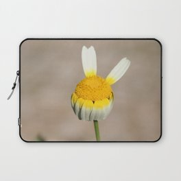 Hippie flower making peace sign Laptop Sleeve
