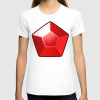ruby T-shirts featuring ruby by tsynali