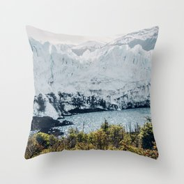 Mountains Covered With Snow  Throw Pillow