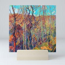 Franklin Carmichael Silvery Tangle Mini Art Print