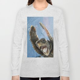 Screaming Turtle Long Sleeve T-shirt