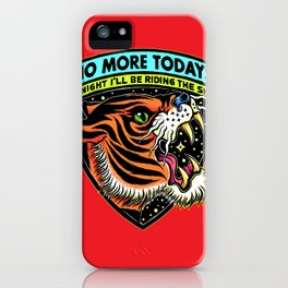 Ride The Sky iPhone Case