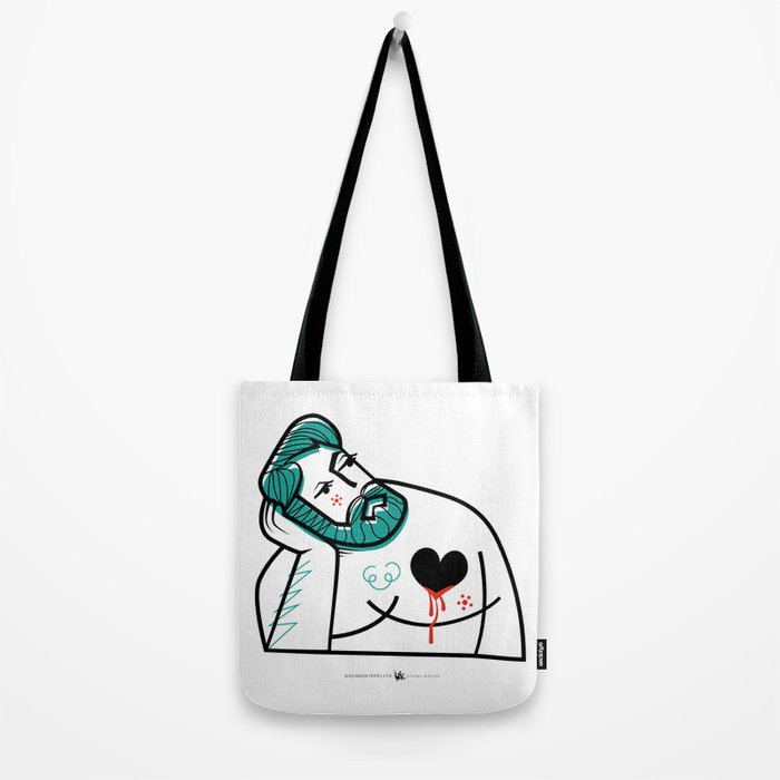 Bitter Sweet Love - Man Tote Bag