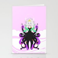 ursula Stationery Cards featuring Ursula by Sergio Saucedo