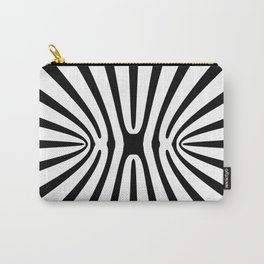 High Contrast Fractal Abstract 140717 Carry-All Pouch