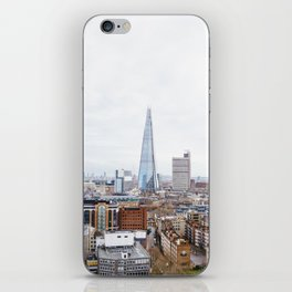 City Skyline View of the Shard, London iPhone Skin