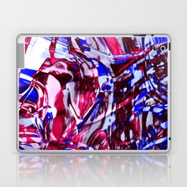 Fluid Painting 2 (Red Version) Laptop & iPad Skin
