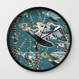 Turtle Migration Wall Clock