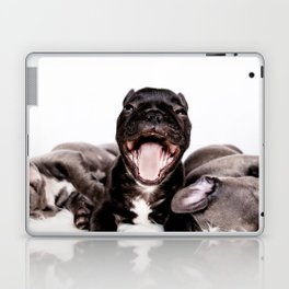 It's a Ruff life being a Puppy! Laptop & iPad Skin