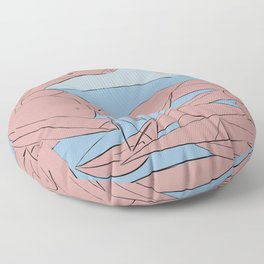 Picasso - On the beach Floor Pillow