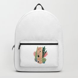 Office Plants Backpack