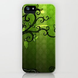 LEAVE - Summer Green iPhone Case