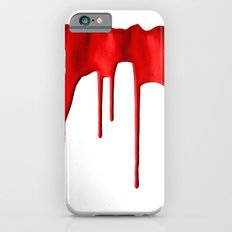 Red Splatter Slim Case iPhone 6s