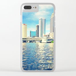 Downtown Tampa Clear iPhone Case