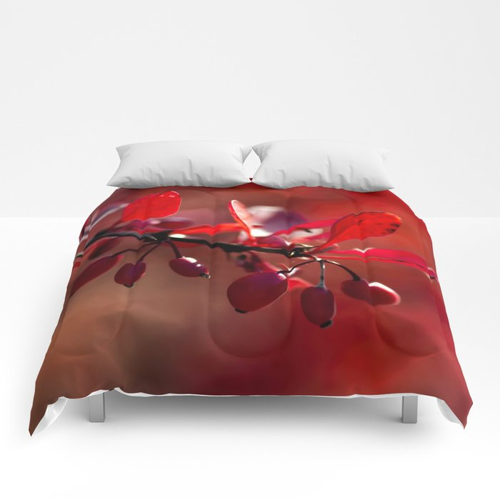 FIRE - Indian Summer VII Comforters