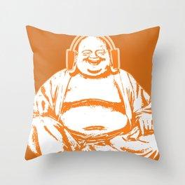 Buddah Beats Throw Pillow