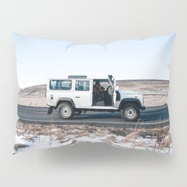 Day out shoting in Iceland Pillow Sham