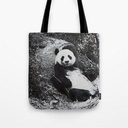 Urban Pop Art Panda Tote Bag