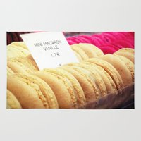 macaron Area & Throw Rugs featuring Macaron by Emily Werboff