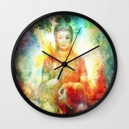 shanti 1 Wall Clock