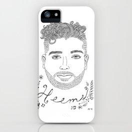 Heems iPhone Case