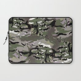 Camo Camo, and the art of disappearing. Laptop Sleeve