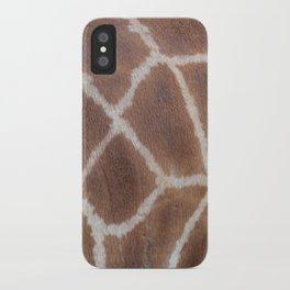 Giraffe pattern iPhone Case