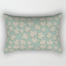 Vintage Leaves Rectangular Pillow