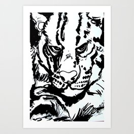 Ships cat  Art Print