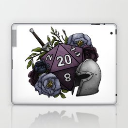 Fighter Class D20 - Tabletop Gaming Dice Laptop & iPad Skin
