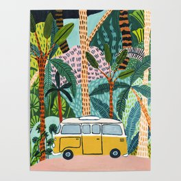 Jungle Camper Poster