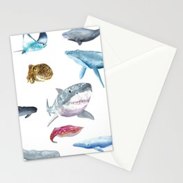 Ocean Friends Stationery Cards