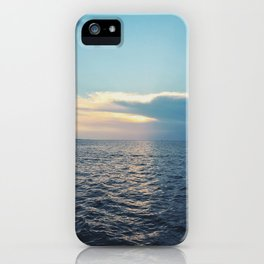 stretch across iPhone Case