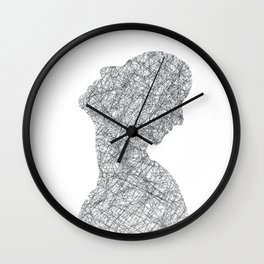 Complicated issues Wall Clock