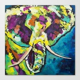 Elmer the Elephant Canvas Print