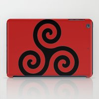 teen wolf iPad Cases featuring Triskele by AlixInsanity