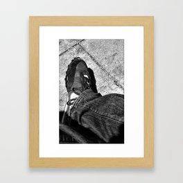 wafflekicks. Framed Art Print