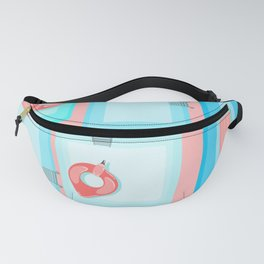 Flamingo Pool Party (Pink) Fanny Pack