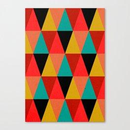 Ternion Series: Wintertide Jubilee Time Canvas Print