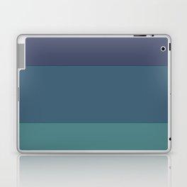 Blue gradations Laptop & iPad Skin