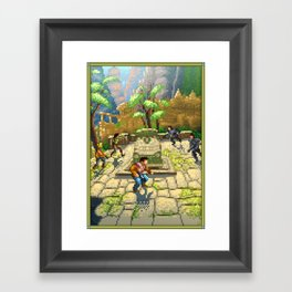 Pixel Art series 7 : Shamballa Framed Art Print
