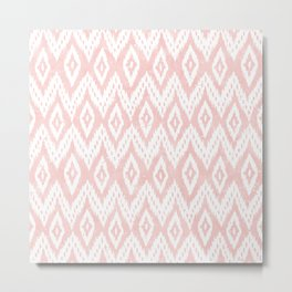 Watercolor BLUSH PINK, Fall 2016 Metal Print