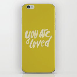 You Are Loved x Mustard iPhone Skin