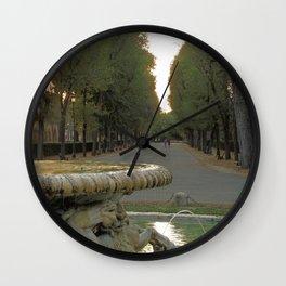 Passeggiata estiva Wall Clock
