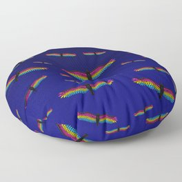 Fly With Pride, Raven Series - Pansexual Floor Pillow