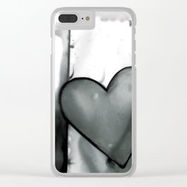 Heart Dreams 1N by Kathy Morton Stanion Clear iPhone Case