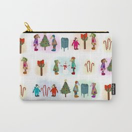 Cozy Kid Unicorns Pattern Carry-All Pouch