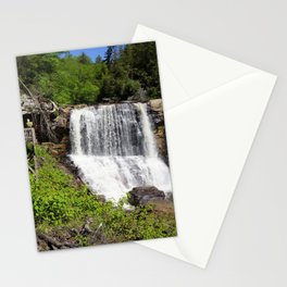 Pictures USA West Virginia, Monongahela river, Blackwater Falls Crag Nature Waterfalls Rivers Rock Cliff river Stationery Cards