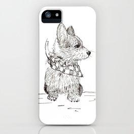 Fancy Corgi iPhone Case
